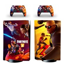 Fortnite Chapter 2 PS5 Skin Sticker Decal