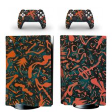 Crazy Abstract PS5 Skin Sticker Decal For PlayStation 5