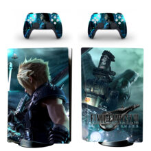 Final Fantasy VII Remake PS5 Skin Sticker Decal