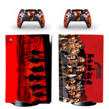 Red Dead Redemption 2 Skin Sticker For PS5 Skin And Controllers