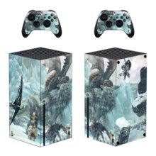 Monster Hunter World Iceborne Skin Sticker For Xbox Series X And Controllers