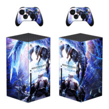 Monster Hunter World Iceborne Skin Sticker Decal for Xbox Series X – Design 2