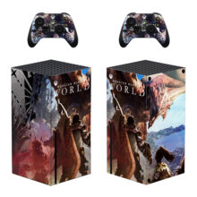 Monster Hunter World Iceborne Skin Sticker Decal for Xbox Series X – Design 5