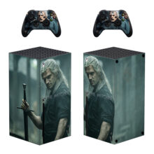 The Witcher Skin Sticker Decal for Xbox Series X