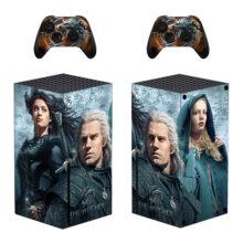 The Witcher Xbox Series X Skin Sticker Decal