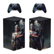 The Witcher Wild Hunt Skin Sticker For Xbox Series X And Controllers – Design 1