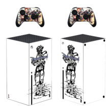 Kingdom Hearts Skin Sticker For Xbox Series X And Controllers