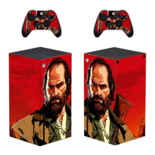 Red Dead Redemption 2 Skin Sticker For Xbox Series X And Controllers