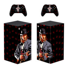 Red Dead Redemption 2 Skin Sticker Decal for Xbox Series X