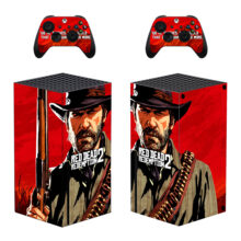 Red Dead Redemption 2 Xbox Series X Skin Sticker Decal – Design 1