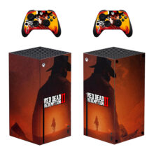 Red Dead Redemption 2 Xbox Series X Skin Sticker Decal – Design 2