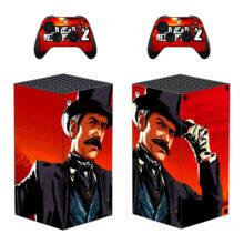 Red Dead Redemption 2 Xbox Series X Skin Sticker Decal – Design 4