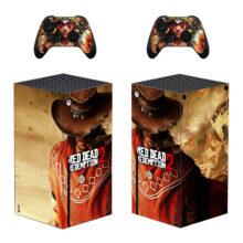 Red Dead Redemption 2 Xbox Series X Skin Sticker Decal – Design 6
