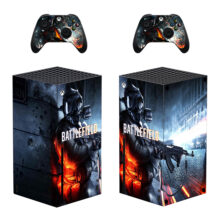 Battlefield Skin Sticker Decal for Xbox Series X