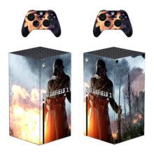 Battlefield 1 Skin Sticker Decal for Xbox Series X