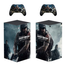 Tom Clancy's Ghost Recon Breakpoint Xbox Series X Skin Sticker Decal – Design 1