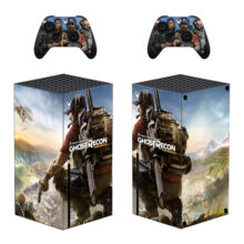 Tom Clancy's Ghost Recon Wildlands Skin Sticker For Xbox Series X And Controllers