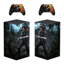 Shadow Of The Tomb Raider Xbox Series X Skin Sticker Decal
