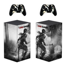Rise Of The Tomb Raider Skin Sticker Decal For Xbox Series X