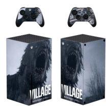 Resident Evil Village Xbox Series X Skin Sticker Decal