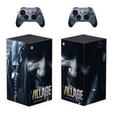 Resident Evil Village Skin Sticker For Xbox Series X And Controllers