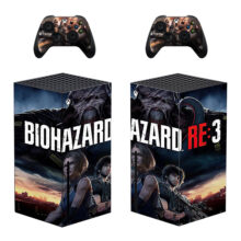 Biohazard Re :3 Skin Sticker Decal For Xbox Series X