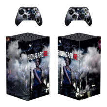 Biohazard Re :3 Skin Sticker Decal For Xbox Series X – Design 1