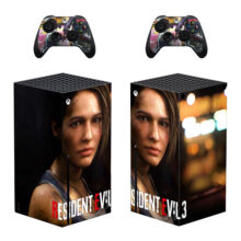 Resident Evil 3 Skin Sticker Decal For Xbox Series X