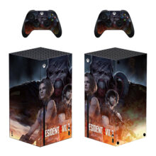 Resident Evil 3 Skin Sticker Decal For Xbox Series X- Design 1