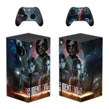 Resident Evil 2 Xbox Series X Skin Sticker Decal