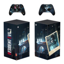Resident Evil 2 Skin Sticker For Xbox Series X And Controllers