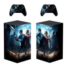 Resident Evil 2 Skin Sticker For Xbox Series X And Controllers- Design 1