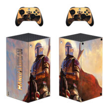 The Mandalorian Xbox Series X Skin Sticker Decal