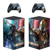 The Mandalorian Xbox Series X Skin Sticker Decal- Design 2