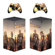 The Mandalorian Skin Sticker Decal For Xbox Series X- Design 3