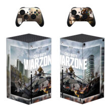 Call of Duty: Warzone Xbox Series X Skin Sticker Decal- Design 2