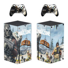 Call of Duty: Warzone Skin Sticker For Xbox Series X And Controllers- Design 1