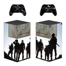 Making Call of Duty Modern Warfare Skin Sticker For Xbox Series X And Controllers