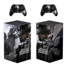 Call of Duty: Modern Warfare Skin Sticker Decal For Xbox Series X- Design 1