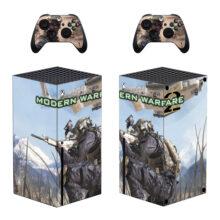 Modern Warfare 2 Xbox Series X Skin Sticker Decal