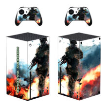 Modern Warfare 2 Skin Sticker For Xbox Series X And Controllers