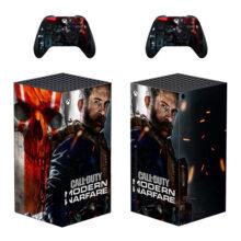 Call of Duty: Modern Warfare Xbox Series X Skin Sticker Decal- Design 5