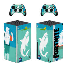 Fortnite Skin Sticker For Xbox Series X And Controllers