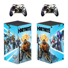 Fortnite Skin Sticker For Xbox Series X And Controllers- Design 2