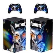 Fortnite Xbox  Skin Sticker Decal For Xbox Series X- Design 2