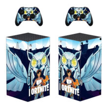 Fortnite Xbox  Skin Sticker Decal For Xbox Series X- Design 3