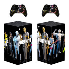Fortnite Xbox Series X Skin Sticker Decal- Design 2