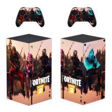 Fortnite Chapter-2 Xbox Series X Skin Sticker Decal