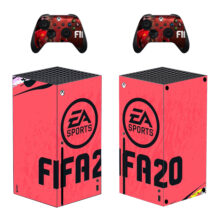 FIFA 20 Skin Sticker For Xbox Series X And Controllers- Design 2