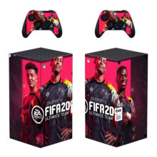 FIFA 20 Xbox Skin Sticker Decal For Xbox Series X- Design 3